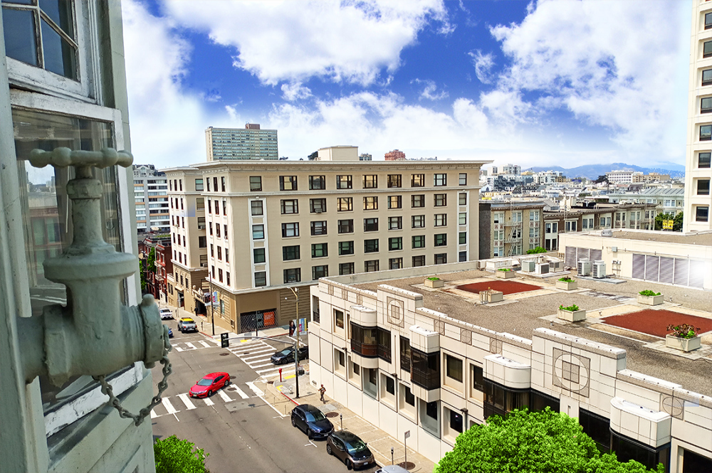 Thank you for viewing our Exterior 3 at Worthington Apartments in the city of San Francisco.